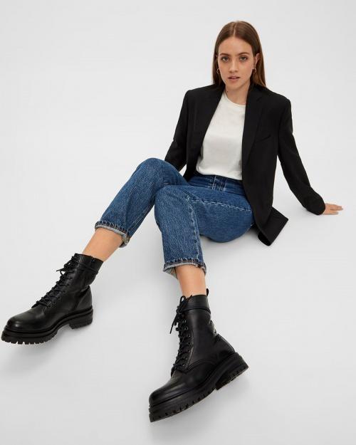 BIADARLENE Lace-up boot - 100