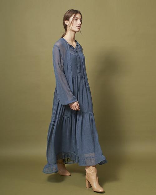 PANCRA kleit - 3043 ORION BLUE