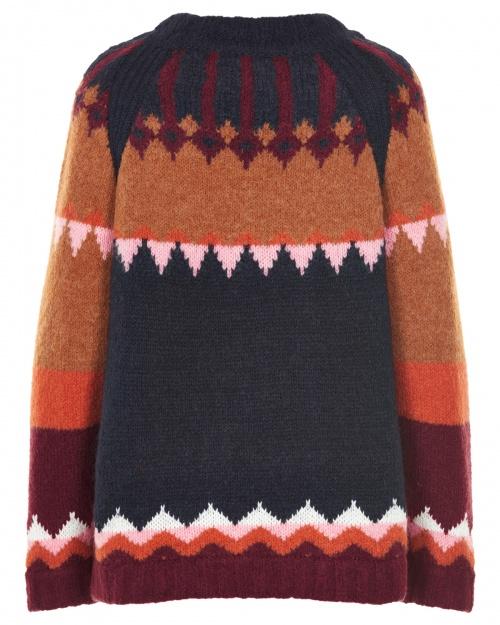 ALLECRAE pullover - 3014 DEEP WELL