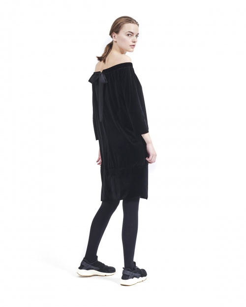 EPIFANIA kleit - 0000 CAVIAR