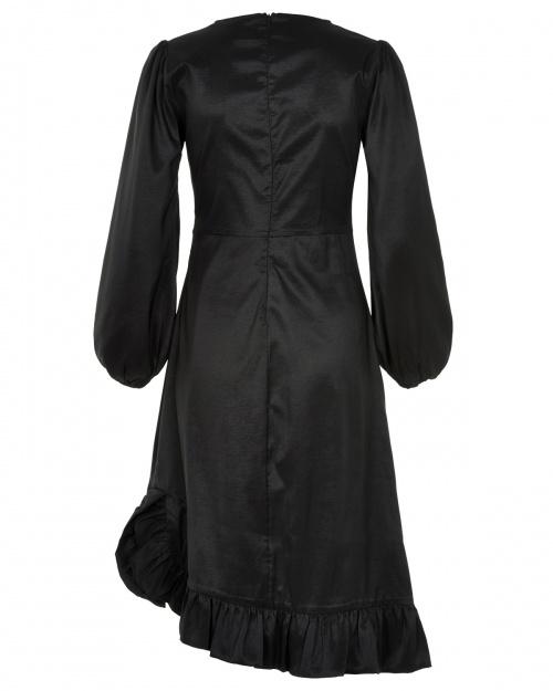 GABBY kleit - 0000 CAVIAR