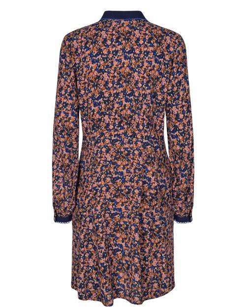 NUBRYNNA AOP kleit - 3046 Dazzling Blue