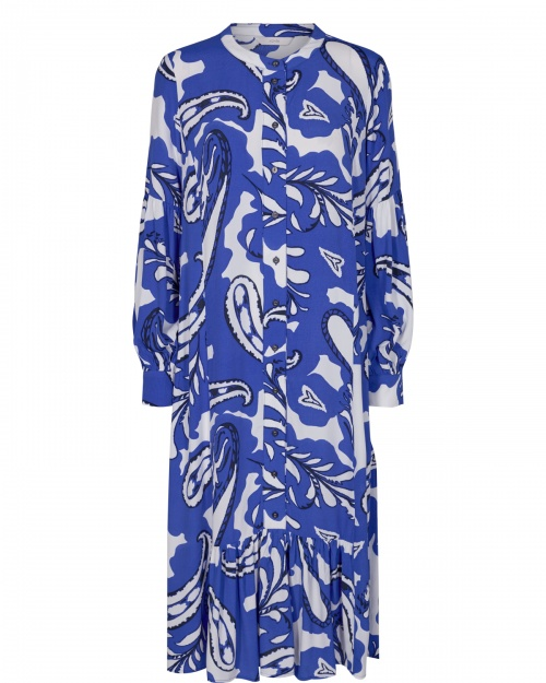 NUBAJA kleit - 3046 Dazzling Blue
