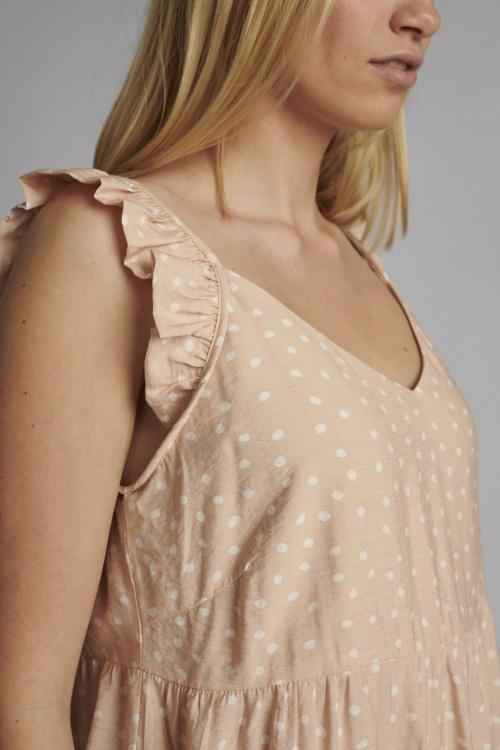 NUBELLA  kleit - 2517 Peach Skin