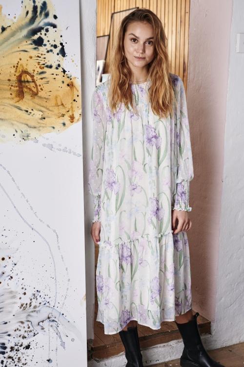 NUCALLIE kleit - 9501 Pristine