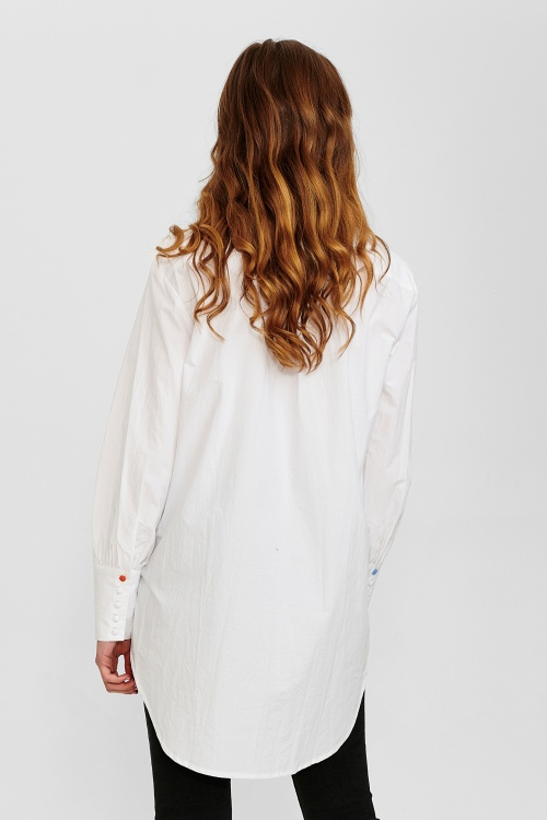 NUCHANTARA särk - 9000 Bright White