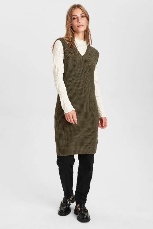 NUCHAYA kleit - 4066 Grape leaf