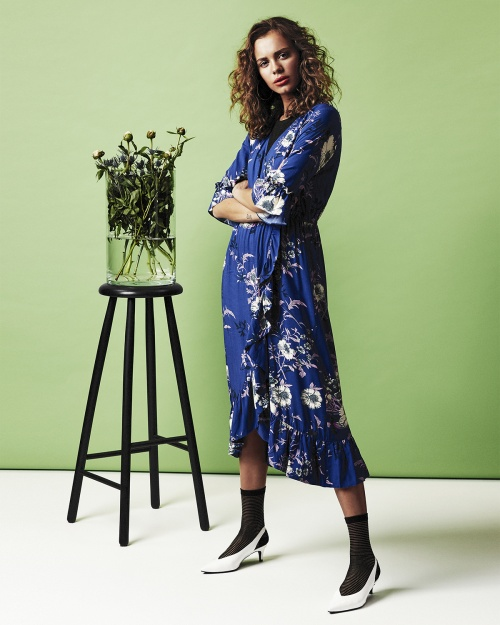 HUALI kleit - 3023 MAZ. BLUE