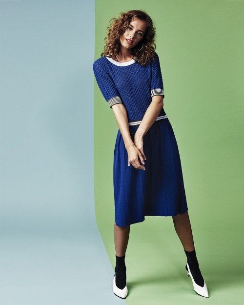ISABELLINE kudum kleit - 3023 MAZ. BLUE