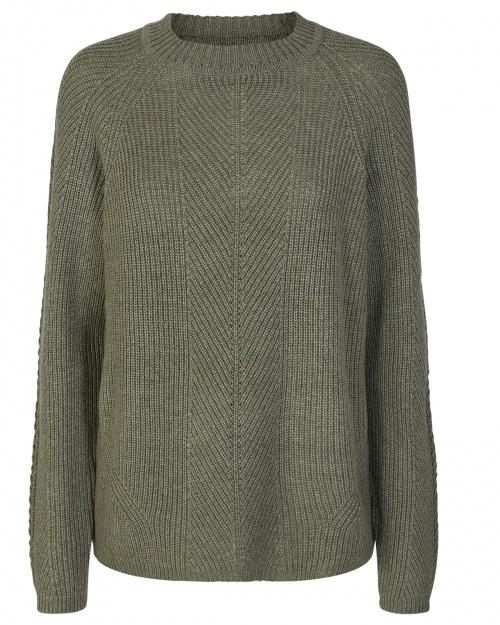 DELIA pullover - 4007 A. GREEN
