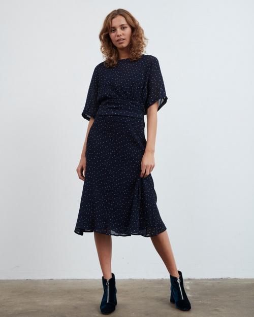DAYO kleit - 3009 MEDI. BLUE