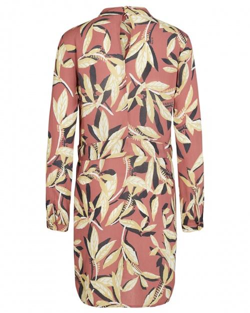 DINA kleit - 2501 L.MAHOGANY