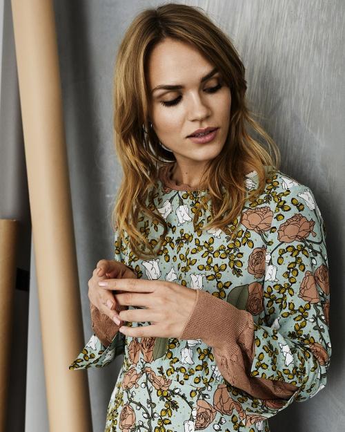 LURLEEN pullover - 5017 CORK