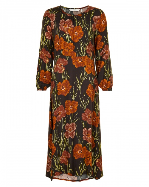 NUMAGERY kleit - 5023 SEAL BROWN