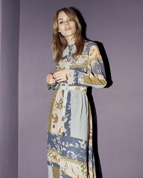 NUMEHRI LS kleit - 3044 OMBRE BLUE
