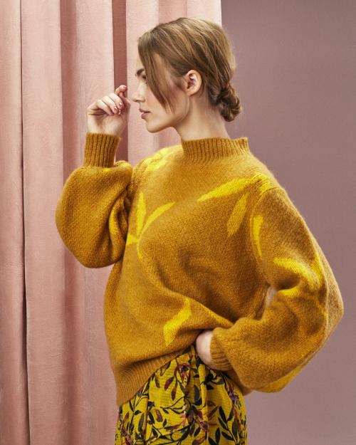 NUNAKIA kleit - 1019 LEMONCURRY